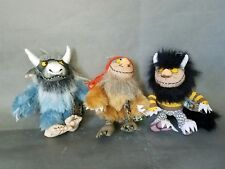 Where The Wild Things Are Moishe Bernard and Sipi Plushes Doll lot of 3