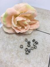 Carved round Spacer Beads (100pcs)