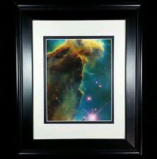 Hubble Telescope: Eagle Nebula Gas Dust Finger Photo Print (Matted & Framed NEW)