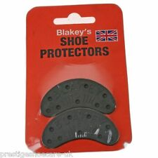 Blakeys De Goma Talle 3 Toe Taco Segs Caucho Calzado Protectores Con Tachuelas Hecho En Reino Unido