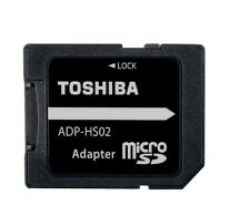 Toshiba Micro SD Carte Mémoire SDHC Convertisseur Adaptateur Pour SD Standard NOUVEAU
