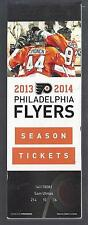 2013-2014 NHL PHILADELPHIA FLYERS SEASON FULL UNUSED TICKETS LOT - 44 TIX
