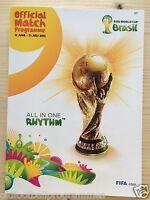 2014 FIFA WORLD CUP FINALS (BRAZIL) OFFICIAL TOURNAMENT PROGRAMME