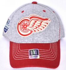premium selection a6946 1bf6c New ListingDETROIT RED WINGS Reebok Winter Classic The Big House Hat Cap  (Sz L XL) NHL  NEW