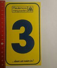 Aufkleber/Sticker: Meulemans mengvoeders 3 daat zit méér in (02011768)