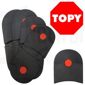DIY - Mens & Ladies Topy Rubber Heels - 6mm Professional Grade