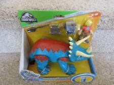 Fisher price Imaginext Jurassic World Park Dr. Sattler & Triceratops Dinosaur
