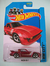 Hot Wheels 2014 HW City - MAZDA RX-7  #21/250 - New In Packet