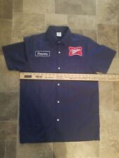 miller high life beer Milwaukee brewers baseball 1970 delivery work size small