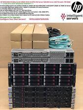 HP MSA2040 DL360p Gen8 V2 10Gbit iSCSI 14.4TB 15K SAN 80Core 1TB Server SAN