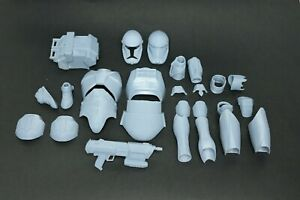 1/6 Scale Star Wars Clone Commando 3D Printed Kits