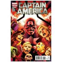 Captain America (2011 series) #6 in Near Mint + condition. Marvel comics [*ty]