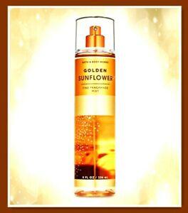 Bath & Body Works GOLDEN SUNFLOWER Fine Fragrance MIST 8 OZ/236mL NEW
