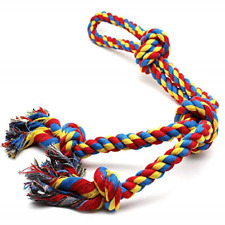 New listing Large Dog Chew Rope Toys for Aggressive Chewers Rope Chew Toy Durable 26 inch