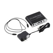 SPDIF/Coaxial Digital DTS/AC3 5.1/2.1CH to Analog Audio Decoder Converter 51A FT