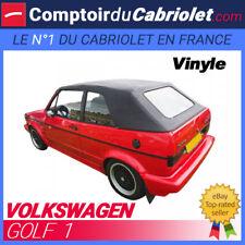 Capote Volkswagen Golf 1 cabriolet - Toile vinyle noire
