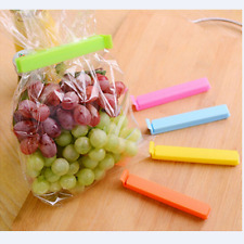 5X Large Food bag Storage Clips Freezer & Fridge Bag Sealing Clip 11cm