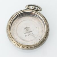 52mm Keystone Base Metal Pocket Watch Case Crystal Parts Repairs Spares