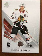 2017-18 UD Hockey SP Authentic Base #9 Duncan Keith