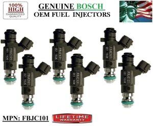6 Fuel Injectors for 2002-2004 Infiniti I35 3.5L V6 Bosch P#FBJC101