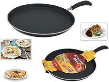 DOSA PAN PANCAKE OMELETTE FRY PAN CHAPATTI TAWA KITCHEN COOKING NON STICK 24CM