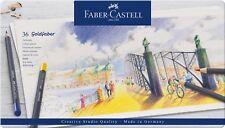 FABER-CASTELL Goldfaber farbstift 36er ASTUCCIO IN METALLO