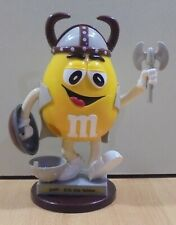 M&M'S CANDY ERIC THE YELLOW VIKING FIGURE