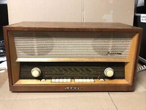 Radio REMA 2001 Stern Röhrenradio Röhren Vintage Rarität DDR Radio