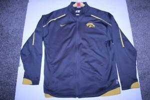 Men's Iowa Hawkeyes XL Jacket (Charcoal Grey) Nike FitDry