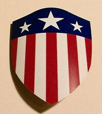 Captain America The First Avenger 1:6 Scale Replica Shield With COA and Stand