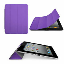 Purple Ultra Slim Thin Magnetic Smart Case Cover For Apple New iPad 3 HD iPad 2