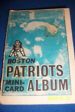 1969 Topps Boston Patriots Set Gino Cappeletti Jim Nance Sid Blanks Arte Graham