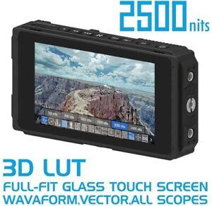Fotga E50 5-Inch Ultra Bright 2500nit Camera Field Monitor Touch Screen HDMI SDI