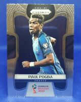 2018 Panini Prizm World Cup Paul Pogba #74 France Manchester United