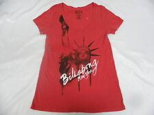 Billabong New York Red Sz Medium T- Shirt Men RP/ $19.95