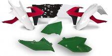 New Red White Green Italy Plastic Body Kit KTM 125 150 250 350 450 SX XC EXC SXF