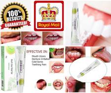 COMPLETE RANGE GEL LIQUID Mouth Ulcer Denture Sores Teething Pain Relief UK