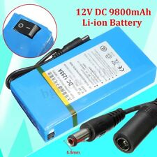 9800mAh DC 12V Super Powerful Rechargeable Portable Li-ion Battery Pack
