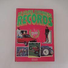 LE LIVRE GUINESS DES RECORDS 1988 NORRIS MC WHIRTER Edition n°1