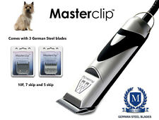 Cairn Terrier Dog Clippers Trimmer Set con 3 lame da Masterclip Professional