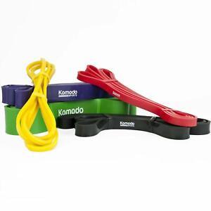 Komodo Resistance Bands - Yoga and Pilates Exercise Stretch Bands