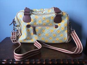 Yummy Mummy Pink Lining Sunflower Changing Bag