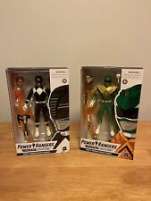 Hasbro Power Rangers Lightning Collection Mighty Morphin Green & Black Ranger !