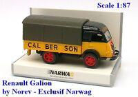 """Renault Galion 2,5t camion bâché """"Calberson"""" - Norev - Echelle 1/87 - Ho"""