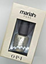 OPI - Mariah Carey Pure - 18k White Gold & Silver Top Coat Holiday Nail Polish