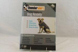 Thundershirt Dog Anxiety Solid Gray XXS