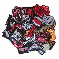 Wholesale BAND Music Punk Rock Reggae Badges Logo Sew Embroidered iron on Patch
