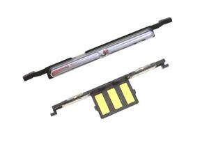 Volume Button Flex Side key Silver for LG Aristo T-Mobile M210 & MetroPCS MS210