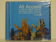 "Carl Craig co-founder ""All Access to Detroit's Music Festivals"" PE65264 Planet E"
