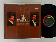 "FRANK SINATRA ""SINGS THE SELECT COLE PORTER ""  CAPITOL RECORD ALBUM  LP"
